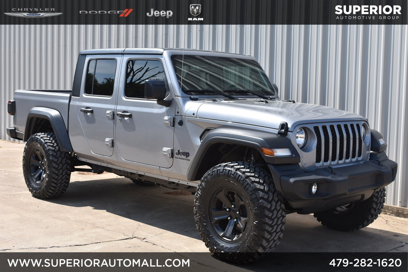 New 2020 JEEP Gladiator Sport S 4WD