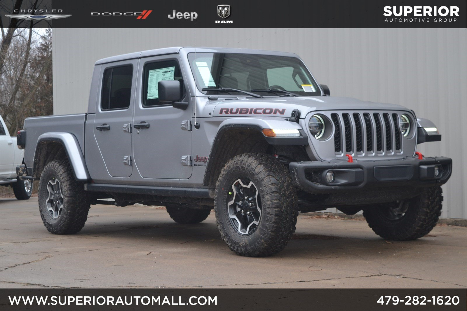 New 2020 JEEP Gladiator Rubicon 4WD