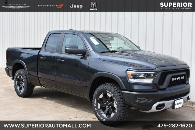 New 2019 RAM All-New 1500 Rebel 4WD Crew Cab