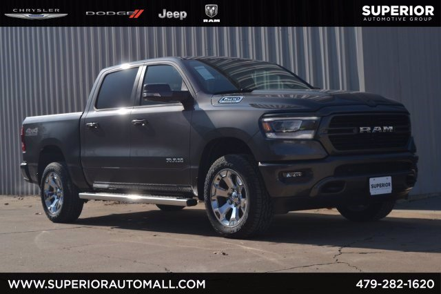 New 2019 RAM All-New 1500 Big Horn 4WD Crew Cab