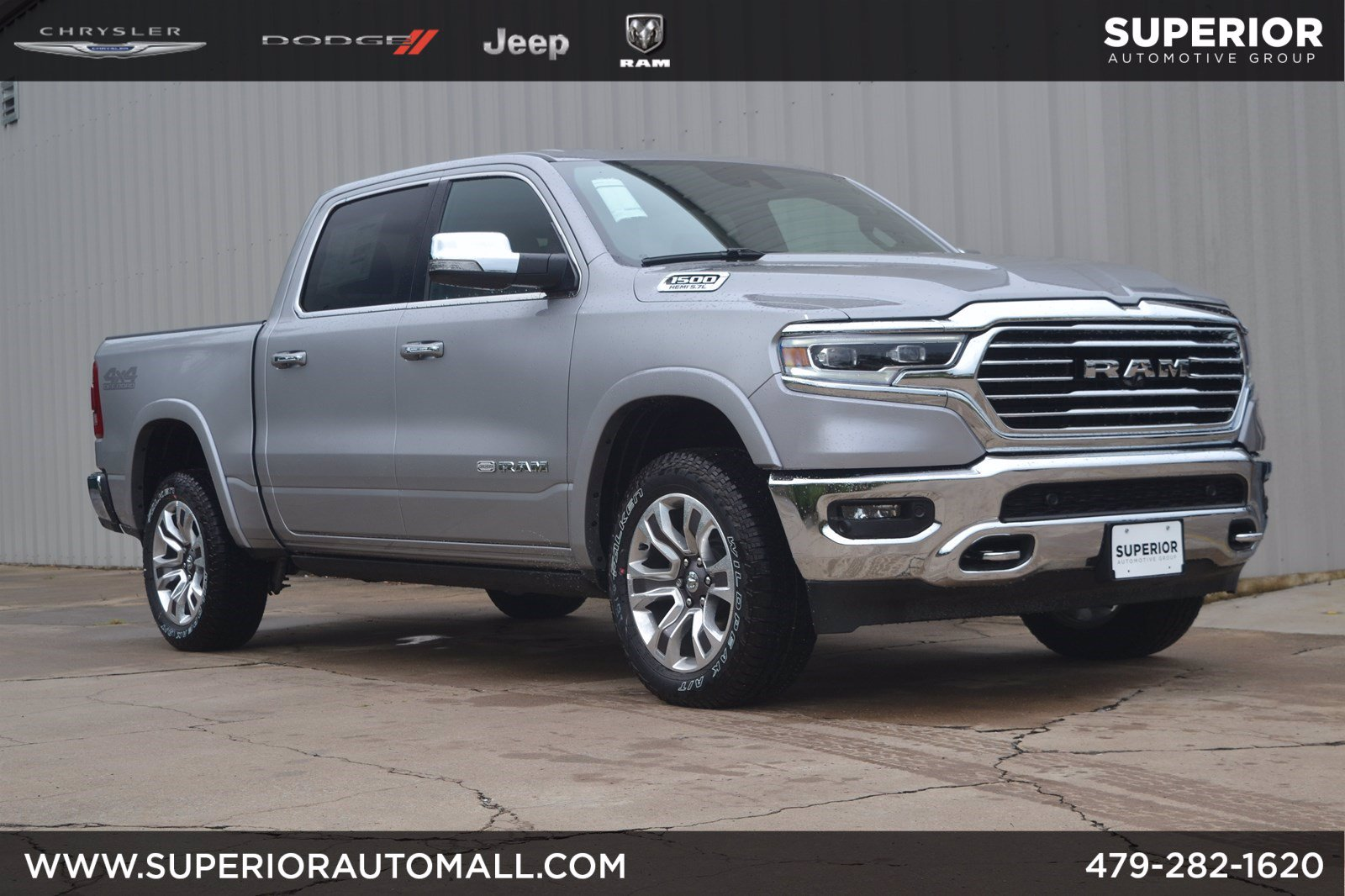 New 2019 RAM All-New 1500 Longhorn 4WD Crew Cab