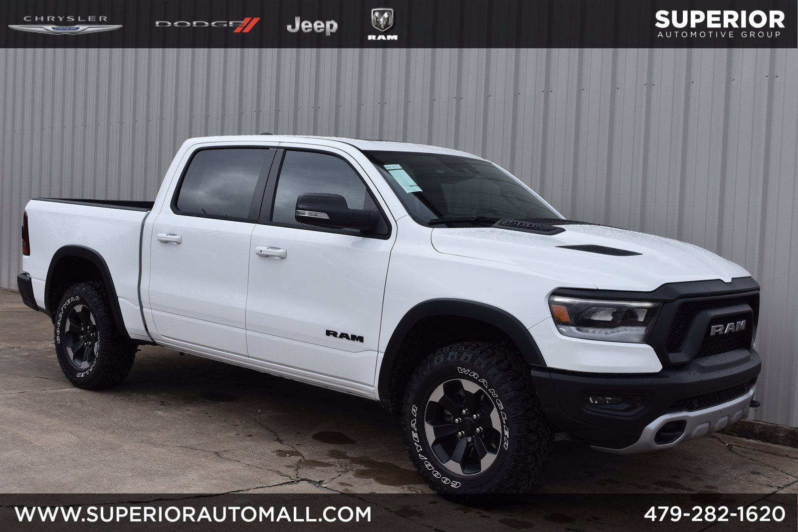 New 2020 RAM 1500 Rebel 4WD Crew Cab