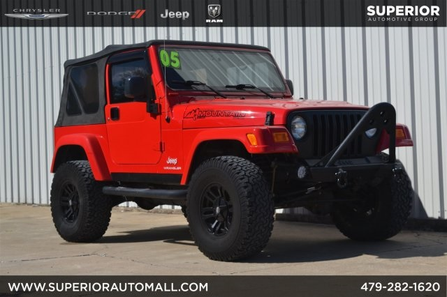 Pre Owned 2005 Jeep Wrangler X