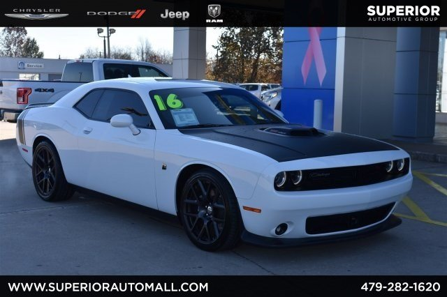 Pre Owned 2016 Dodge Challenger 392 Hemi Scat Pack Shaker 2dr Car In