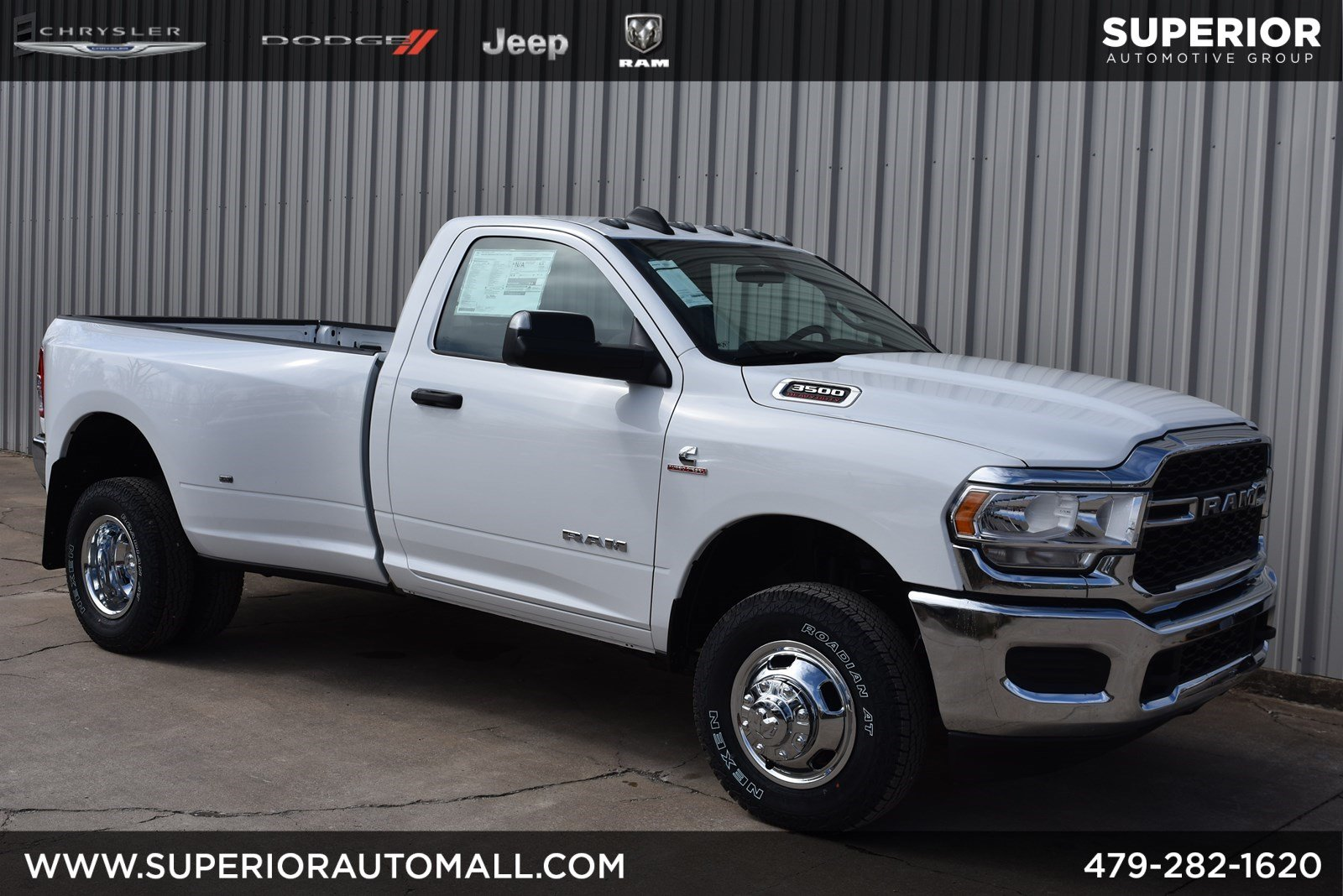 New 2020 RAM 3500 Tradesman 4WD Regular Cab