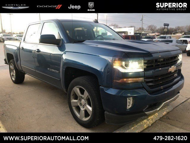 Pre Owned 2017 Chevrolet Silverado 1500 Lt Crew Cab Pickup In Siloam