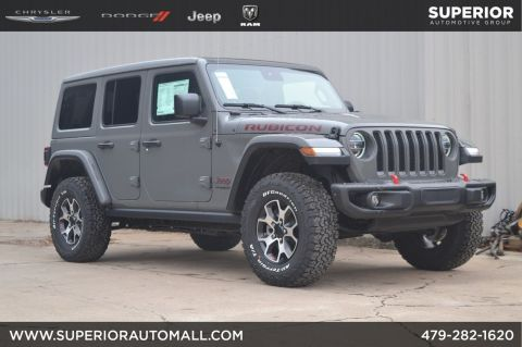New 2020 JEEP Wrangler Rubicon 4WD
