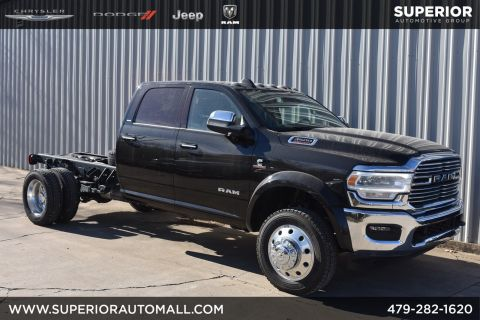 New 2019 RAM 4500 Chassis Cab Laramie 4WD Crew Cab Chassis-Cab