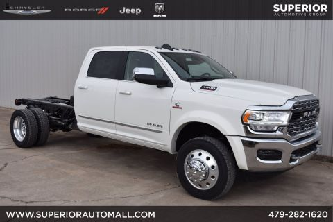 New 2019 RAM 4500 Chassis Cab Limited 4WD Crew Cab Chassis Cab