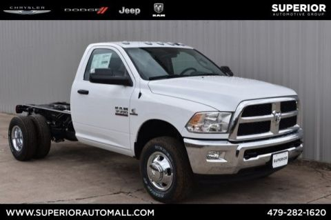 New 2018 RAM 3500 Chassis Cab Tradesman 4WD Regular Cab Chassis-Cab