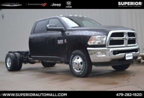 New 2018 RAM 3500 Chassis Cab Tradesman 4WD Crew Cab Chassis-Cab